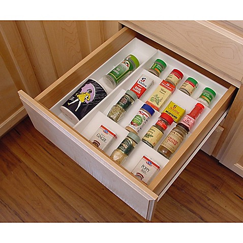 Drawer Organizer Spice Rack Bed Bath Amp Beyond