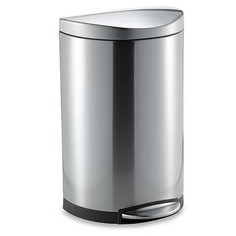 Stainless Steel Kitchen Trash Can Bed Bath And Beyond