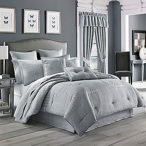 J Queen New York Wilmington Comforter Set Bed Bath