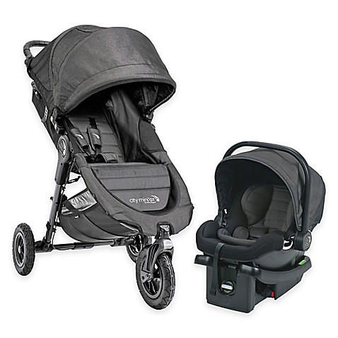 Baby Jogger 174 City Mini Gt Travel System In Charcoal
