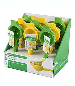 Exprimidor de limones Prepworks® en verde/amarillo