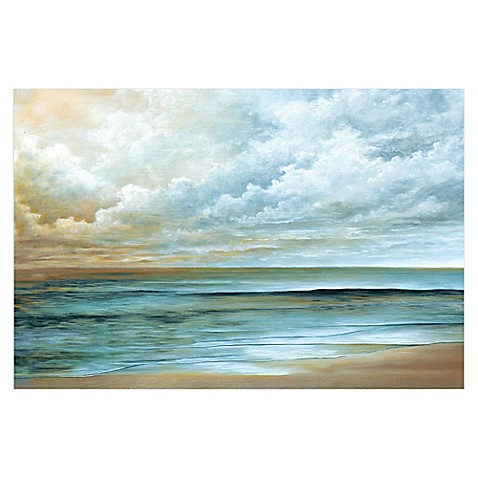 Away At Sea Canvas Wall Art Bed Bath Amp Beyond