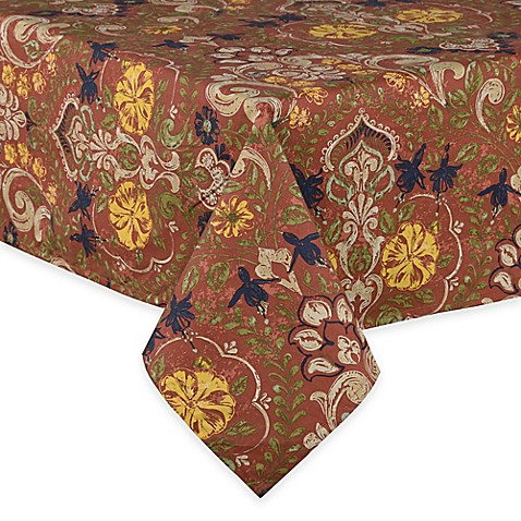Buy Jessica 60 Inch X 84 Inch Laminated Oblong Tablecloth