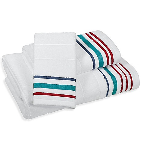 Beacon Stripe Bath Towel Collection Bed Bath Beyond