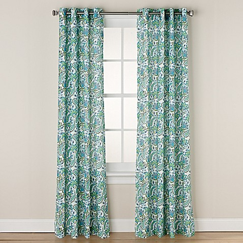 Chloe Print Grommet Window Curtain Panel Bed Bath Amp Beyond
