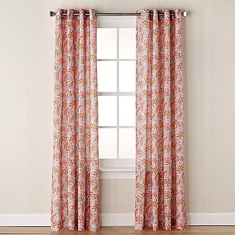 Buy Chloe Print 84 Inch Grommet Window Curtain Panel In