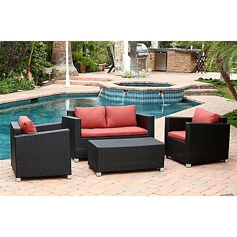 Abbyson Living 174 Hampton Patio Furniture Collection Bed