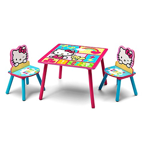 Buy Hello Kitty Kids Table And Chairs Set From Bed Bath Beyond
