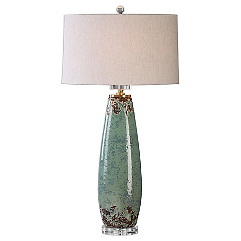 Buy Uttermost Rovasenda Table Lamp In Mint Green Crackle