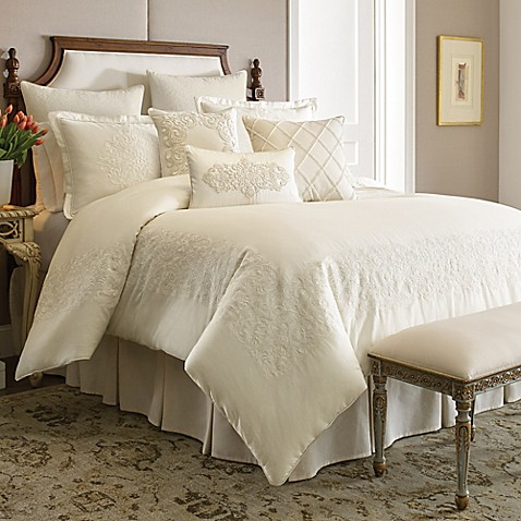 Croscill couture hepburn comforter set bed bath beyond - Bed bath and beyond bedroom furniture ...