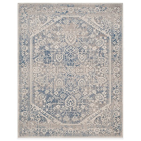buy safavieh patina ross 8 foot x 10 foot area rug in grey blue from bed bath beyond