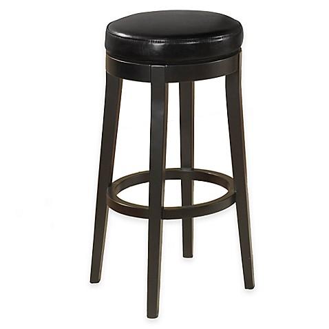 Buy Stanton 30 Inch Swivel Backless Barstool In Black From