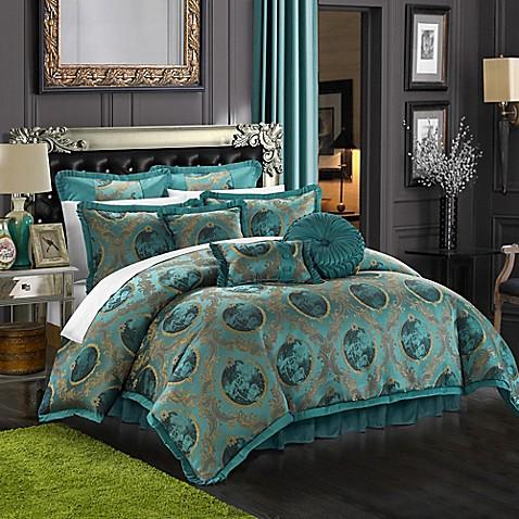 Buy Chic Home Alessandro 9 Piece Queen Comforter Set In