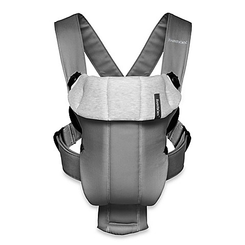 Babybjorn 174 Baby Carrier Beginnings In Dark Grey Buybuy Baby