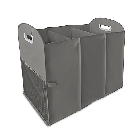 Homz Accordion Hamper in Grey at Bed Bath & Beyond in Cypress, TX | Tuggl