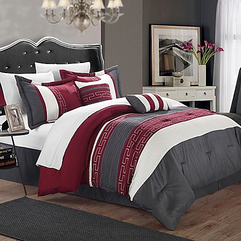 Buy Chic Home Coralie 6 Piece King Comforter Set In