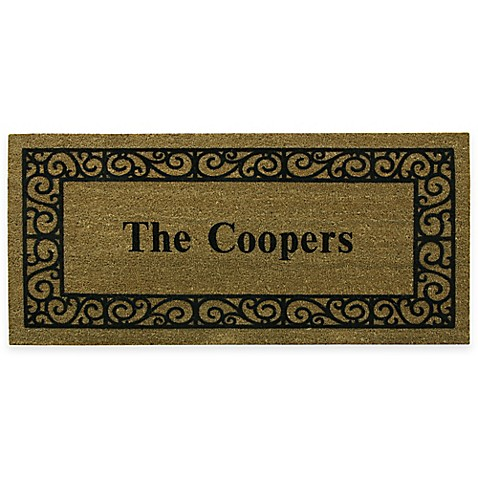 Bacova French Quarters Estate 47-Inch x 21-Inch Size Door Mat at Bed Bath & Beyond in Cypress, TX | Tuggl