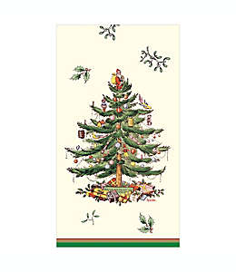 Servilletas de papel navideños C.R. Gibson Spode® en verde
