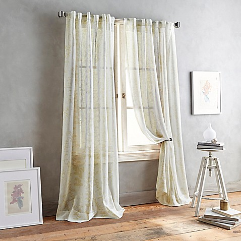 Buy Dkny Front Row 63 Inch Back Tab Sheer Window Curtain