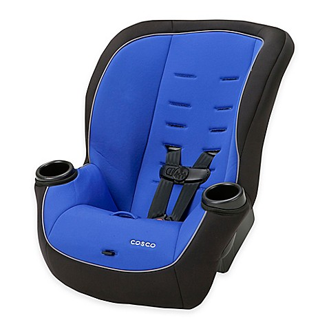 cosco apt 50 convertible car seat in vibrant blue bed bath beyond. Black Bedroom Furniture Sets. Home Design Ideas