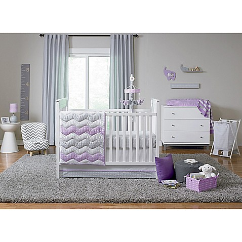 happy chic baby by jonathan adler emma crib bedding collection buybuy baby. Black Bedroom Furniture Sets. Home Design Ideas