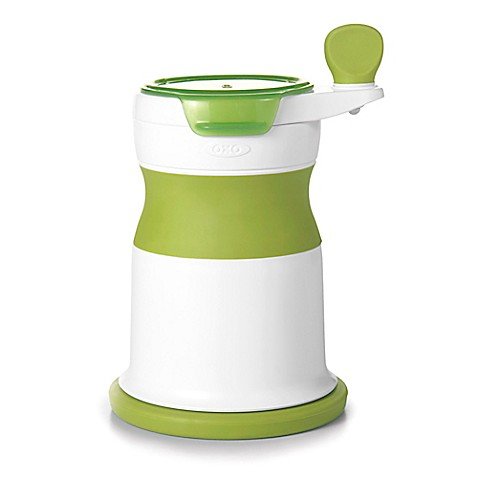 Oxo Mash Maker Baby Food Mill In White Green Buybuy Baby