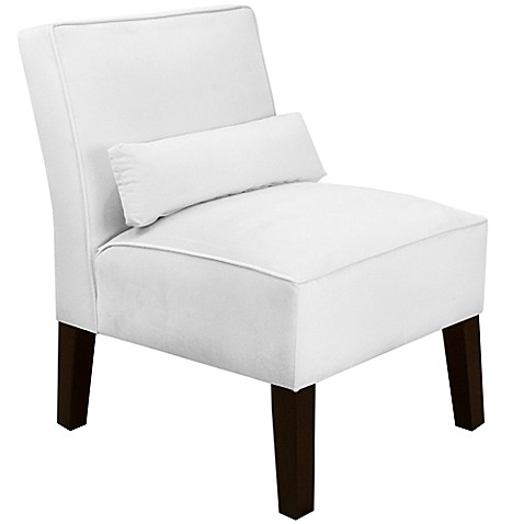 Skyline Furniture Armless Chair in Velvet at Bed Bath & Beyond in Cypress, TX | Tuggl
