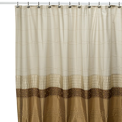 84 Inch Hookless Shower Curtain Black and White Fabric Shower