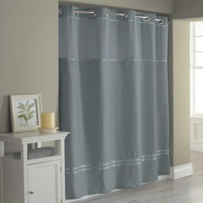 Hookless 174 Escape Fabric Shower Curtain And Shower Curtain