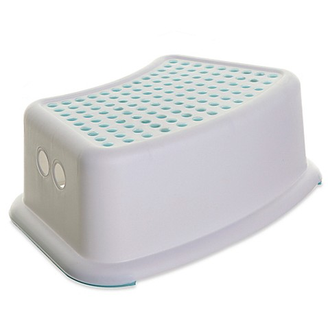 dreambaby step stool with aqua dots bed bath beyond. Black Bedroom Furniture Sets. Home Design Ideas