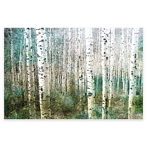 parvez taj aspen canvas wall art bed bath beyond With best brand of paint for kitchen cabinets with aspen tree canvas wall art