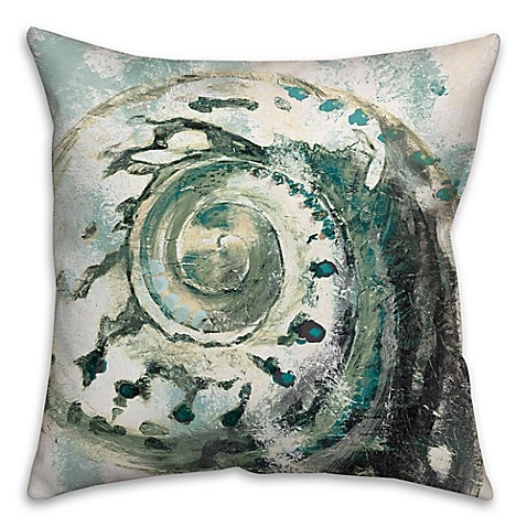 Abstract Shell Throw Pillow Bed Bath Amp Beyond