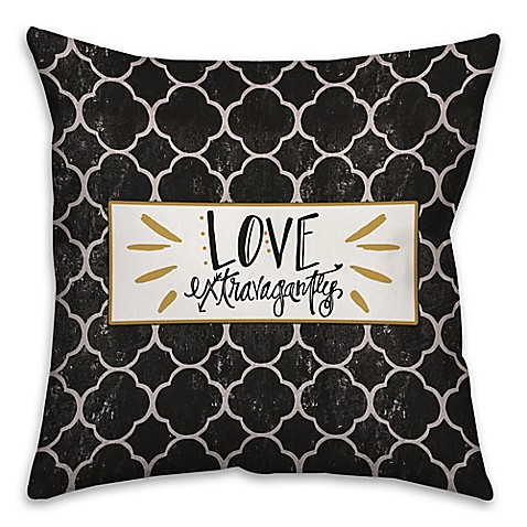 Black Throw Pillow For Bed :