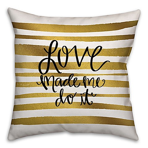 Decorative Pillows White And Gold :