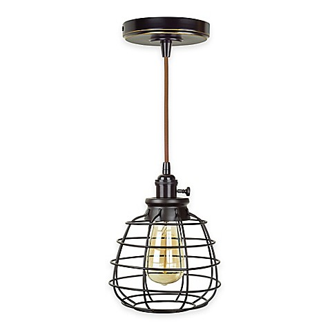 Buy Litex Mix And Match Mini Pendant Light And Swag In Brushed Nickel From Bed Bath Beyond
