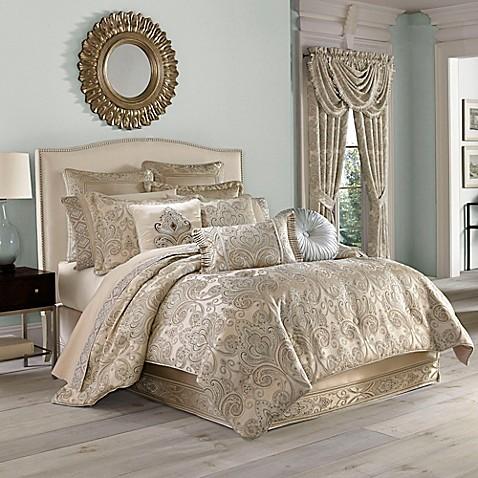 J Queen New York Romance Comforter Set In Spa Bed Bath