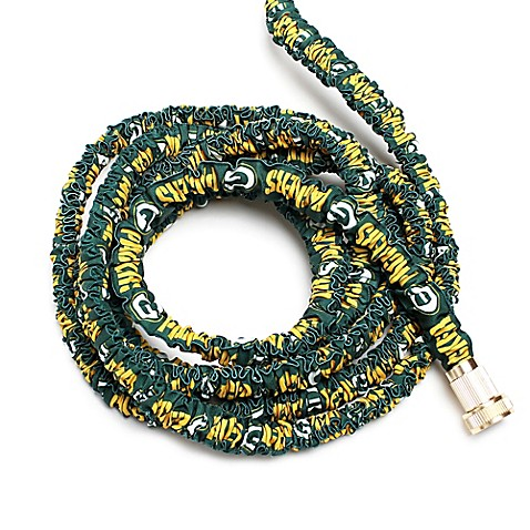 Nfl Green Bay Packers Expandable Garden Hose Bed Bath