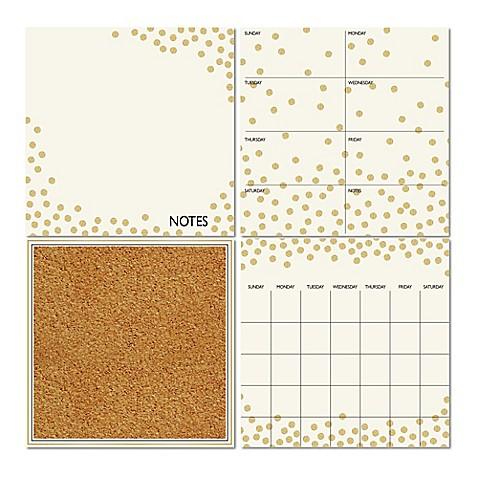 Wallpops 174 Dry Erase Calendar Weekly Planner Notes Board