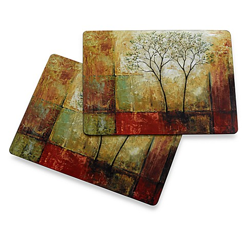 Buy Avanti Morning Luster Cork Back Placemats Set Of 2