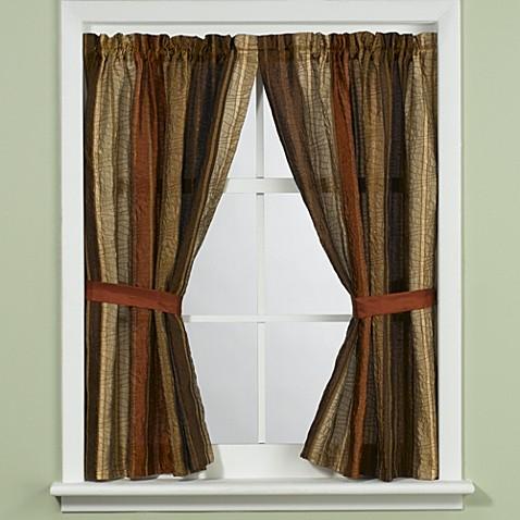 Buy Manor Hill 174 Sierra Copper Bathroom Window Curtain