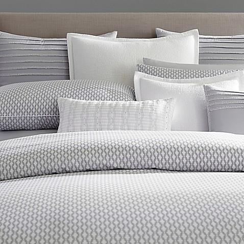 Barbara Barry 174 Ascot European Pillow Sham In Slate Bed