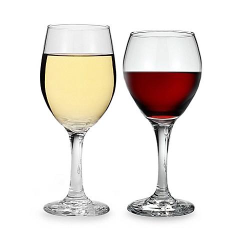 Libbey 174 Table Settings Classic Wine Glasses Set Of 4