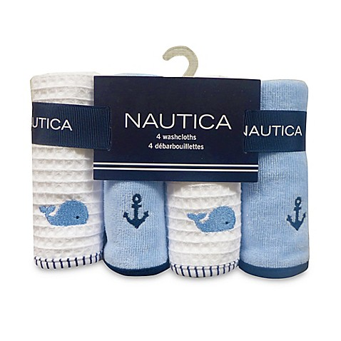 Nautica 4 Pack Washcloths Bed Bath Beyond