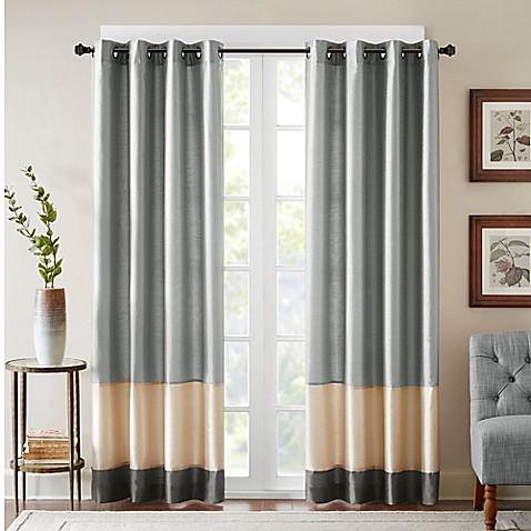 Bombay 174 Conner Grommet Window Curtain Panel Bed Bath