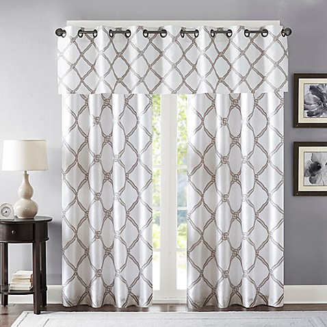 Bombay 174 Teramo Window Curtain Panels And Valance Bed