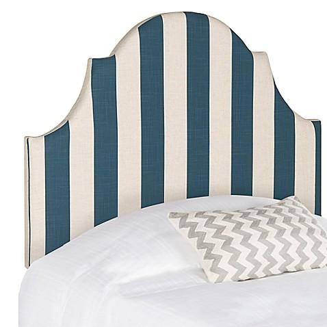 Buy Safavieh Hallmar Twin Headboard In Navywhite Stripe From Bed Bath