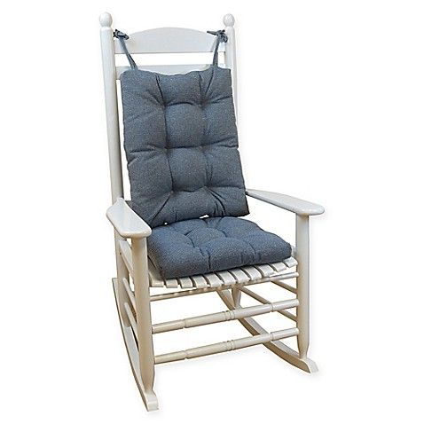 Buy Klear Vu Gripper 174 Saturn Rocking Chair Pad Set In Blue