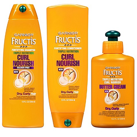 Garnier 174 Fructis 174 Triple Nutrition Sulfate Free Curl