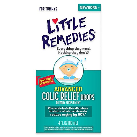 Little Remedies 174 For Tummys 4 Oz Advanced Colic Relief