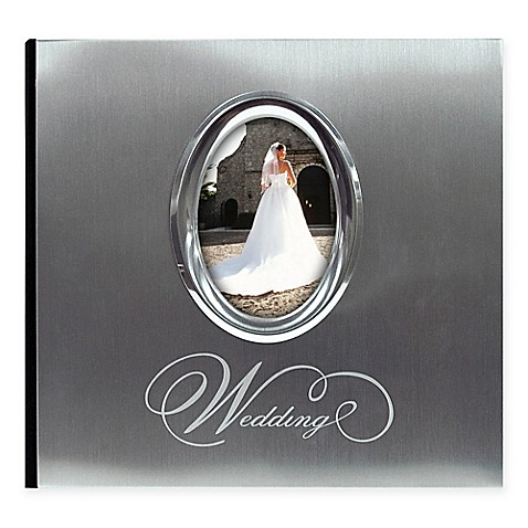 200-Photo Wedding Album in Silver at Bed Bath & Beyond in Cypress, TX | Tuggl